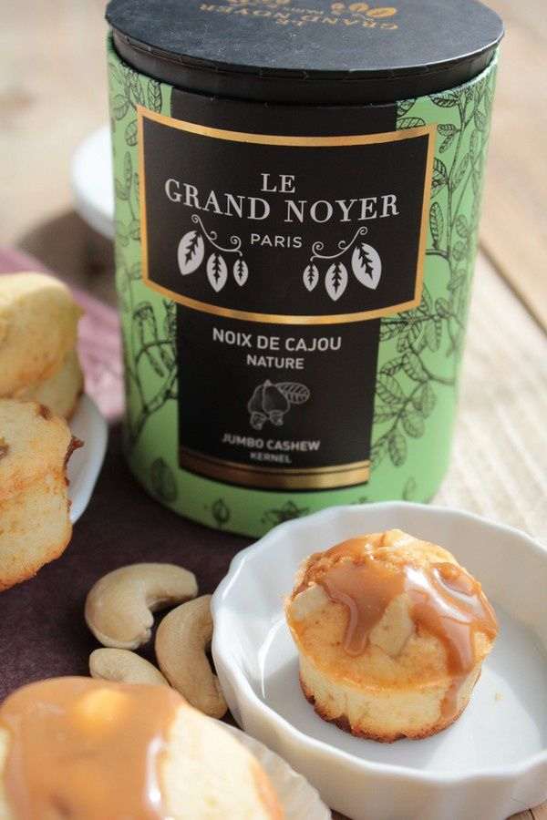 Muffins Noix de Cajou et Caramel 22