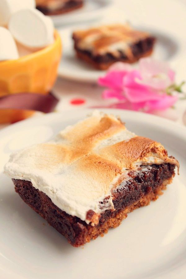 S'mores bars brownie {Biscuits, Brownie & Chamallow} #3