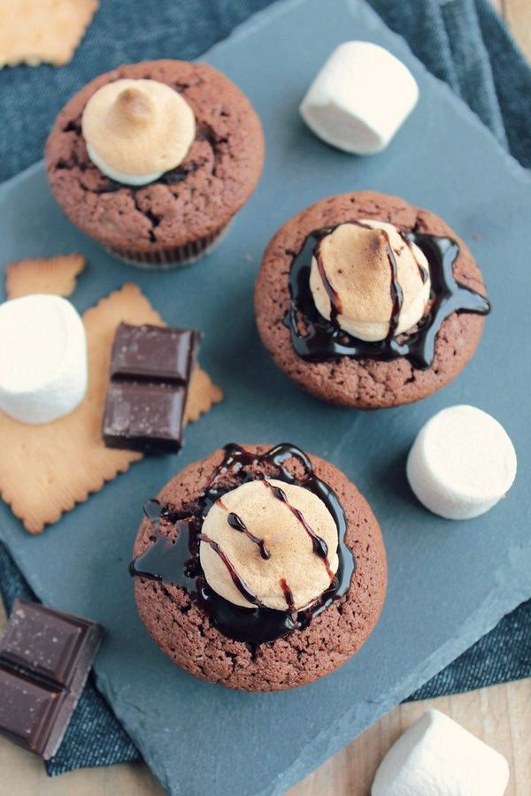 S'mores Cupcakes 14#