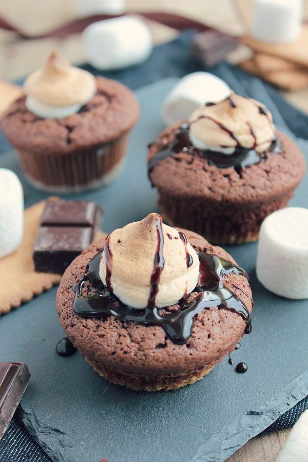 S'mores Cupcakes 15#