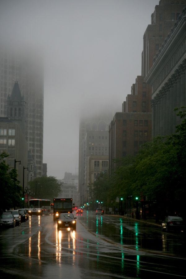 Milwaukee---Downtown---Rain 4780V