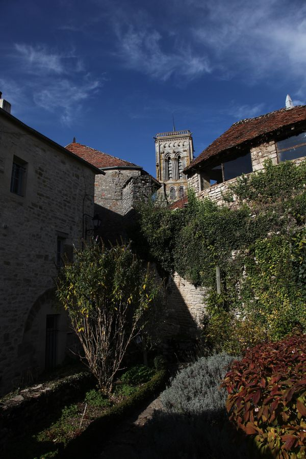 clocher vézelay