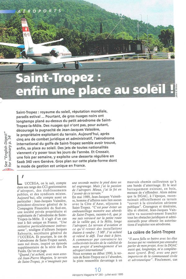 1995 Aéroport Magazine 1
