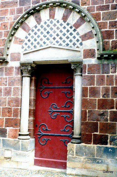 P01 - Porte rouge
