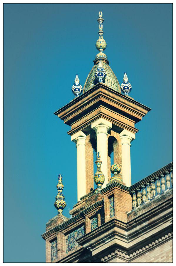 Sevilla - Plaza de España - Detalles