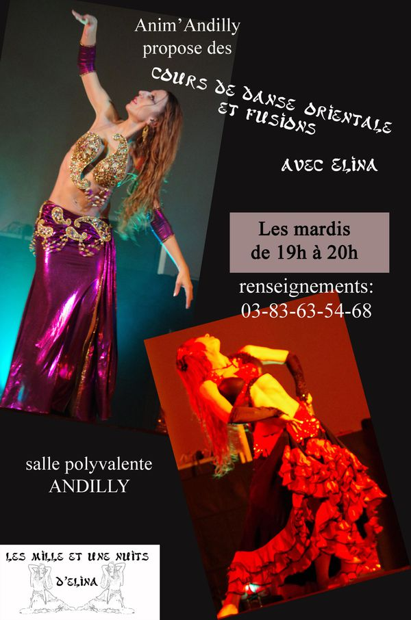 Flyer cours Andilly
