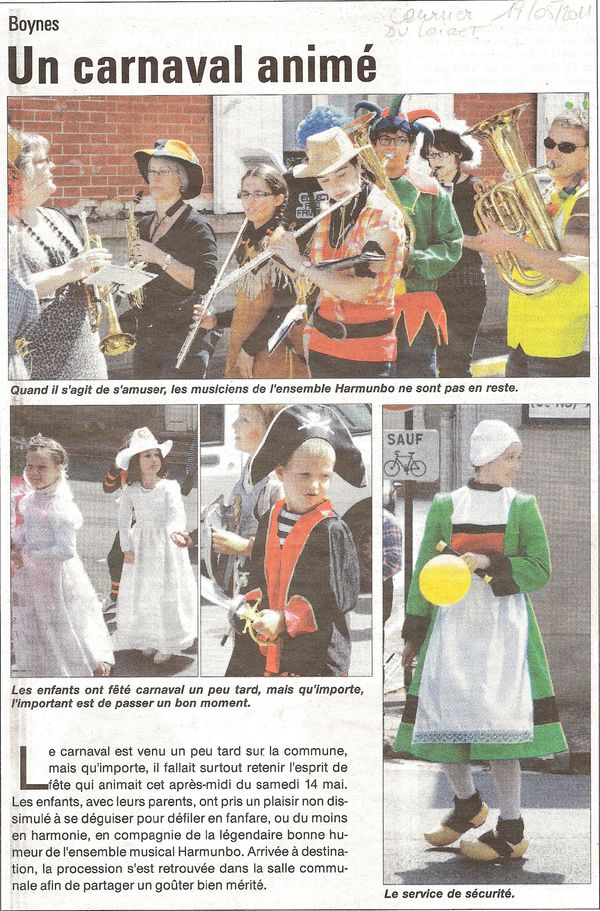 Carnaval courrier 19 05 2011