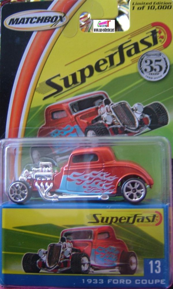 1933 ford coupe matchbox superfast limited edition (1)