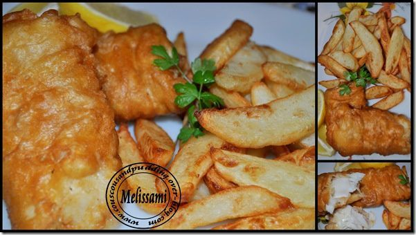 english fish and chips.