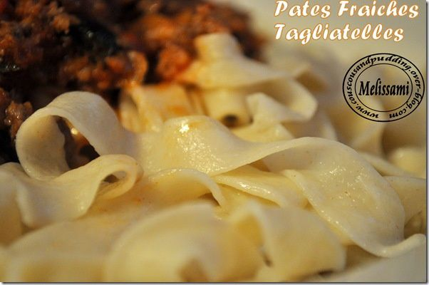 pate fraiche tagliatelle