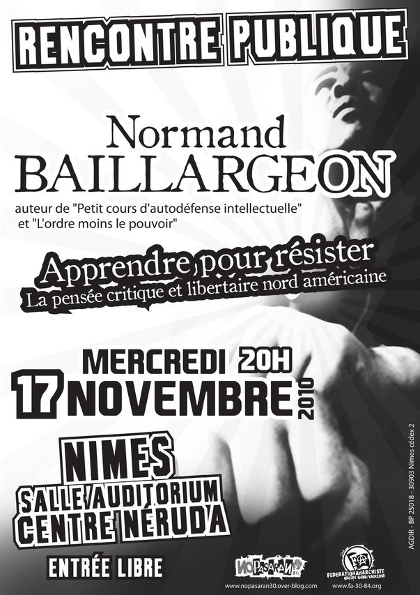 affiche 17 novembre