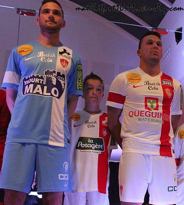 Brest maillot 8