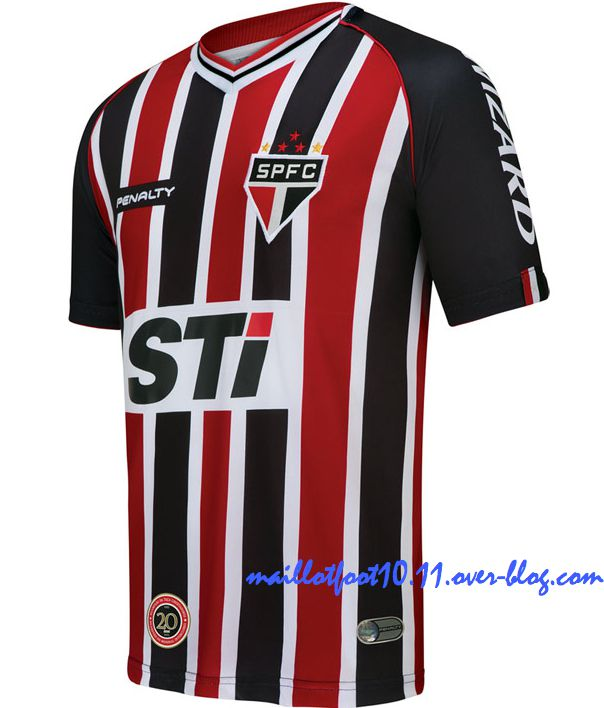 3538cbfdc These are the official home and away kit for Brasileirao team São Paulo