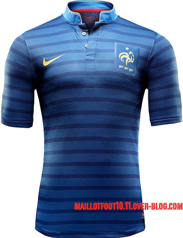 maillot equipe de frnace euro 2012