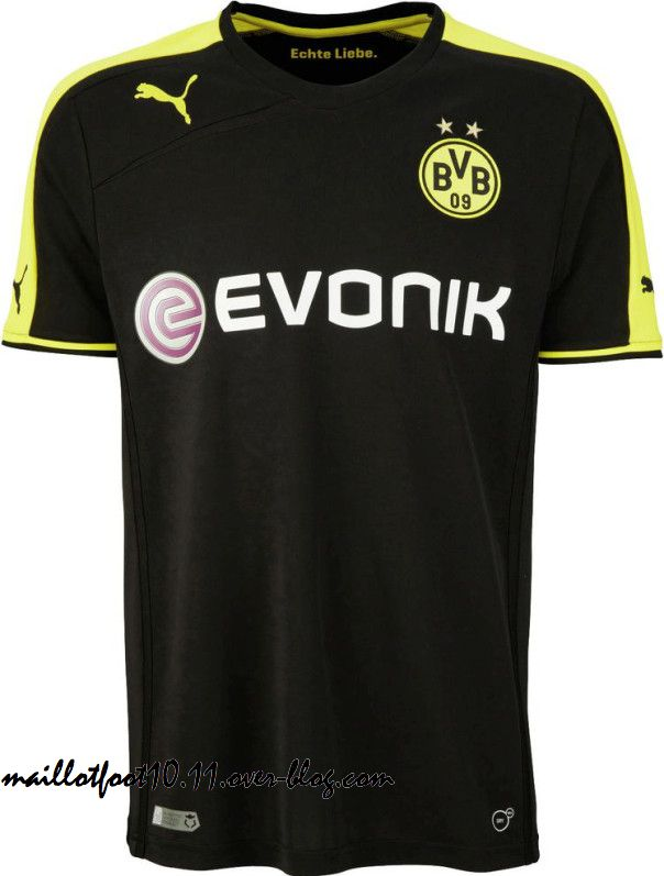 Borussia dortmund maillots 2013 2014 www for Maillot borussia dortmund exterieur
