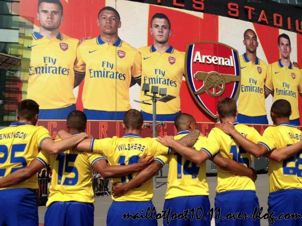 arsenal maillot 2014