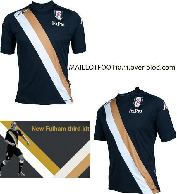 third kit fulham 2012 2013