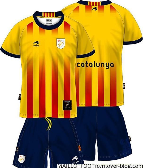 6313519f9 This is the official kit or Jersey for Catalonia in 2013.