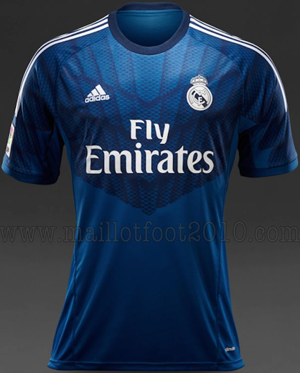les nouveaux maillots du real madrid pour 2014 2015 car interior design. Black Bedroom Furniture Sets. Home Design Ideas