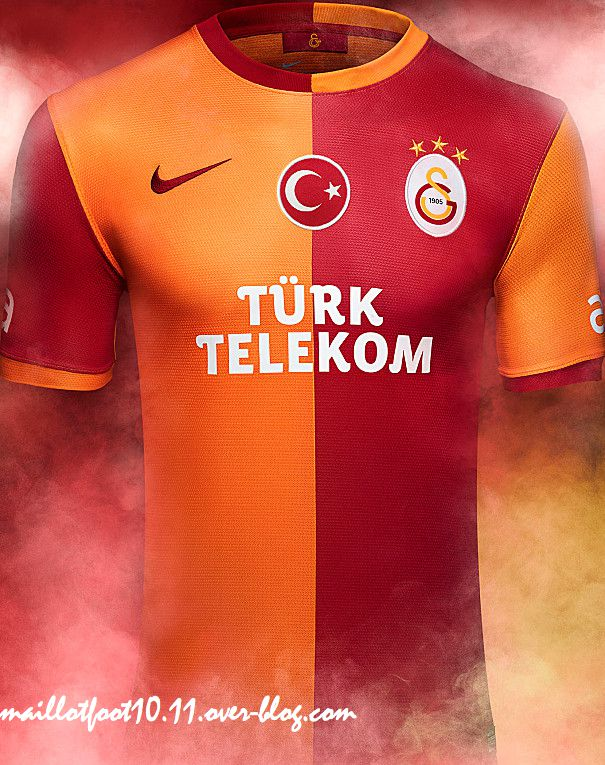galatsaray maillot 2014