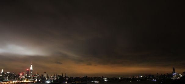 NYC Skyline Blackout