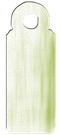 Jewelry Tag - Lime