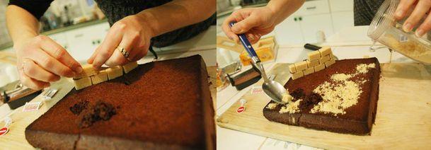 Gâteau en chantier 1