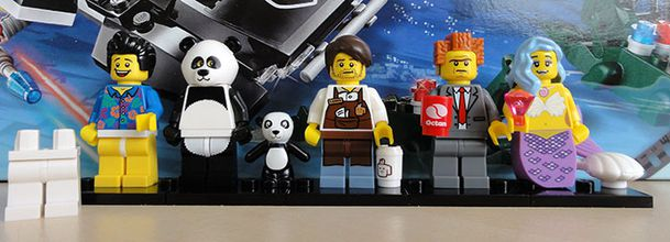 LEGO THE MOVIE 16 TO COLLECT MINIFIGS START