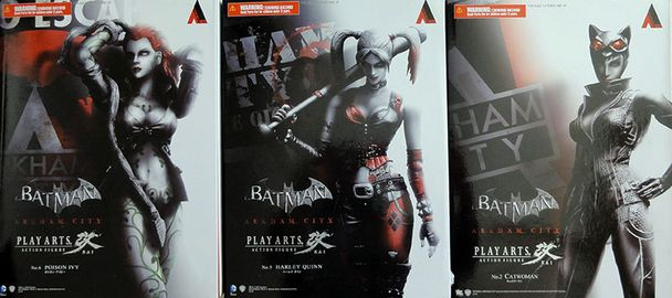 PLAYARTS BATMAN GIRLS BOX