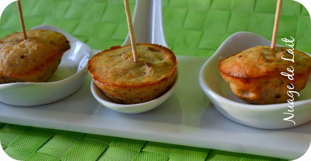 bouchées apéritives noix de pécan et parmesan