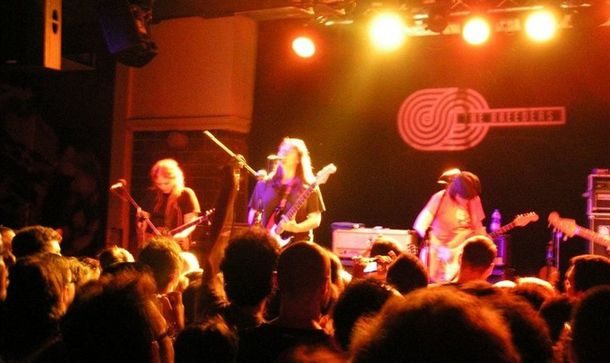 The Breeders en directo en el club Zappa de Tel Aviv