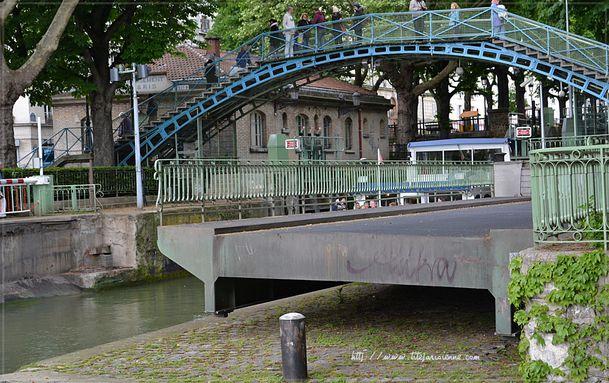 1 Ecluse Canal Saint-Martin 8