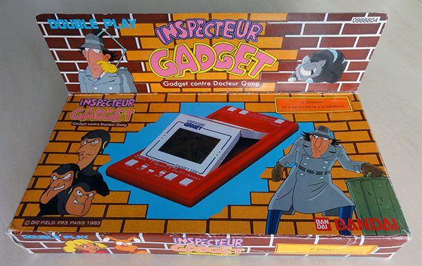 INSPECTEUR GADGET GAME&WATCH BANDAI BOX
