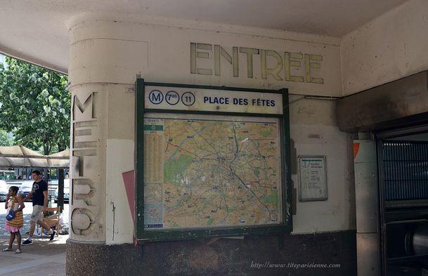 Métro Place des Fêtes 4