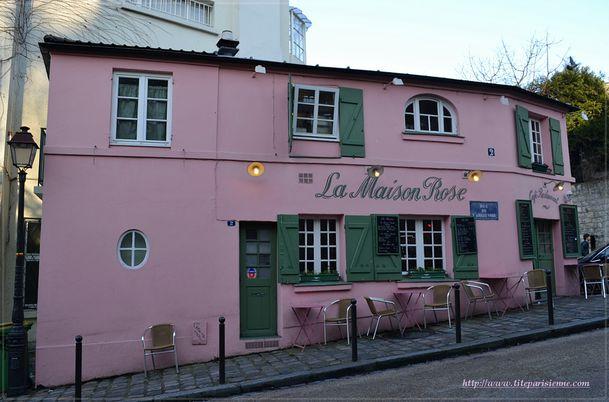 La Maison Rose Montmartre 1