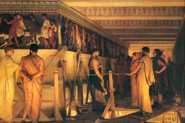 1868_Lawrence_Alma-Tadema_-_Phidias_Showing_the_Frieze_of_t.jpg