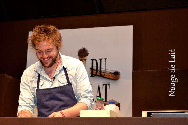 Florent Ladeyn démo au Salon du Chocolat Lille 2013