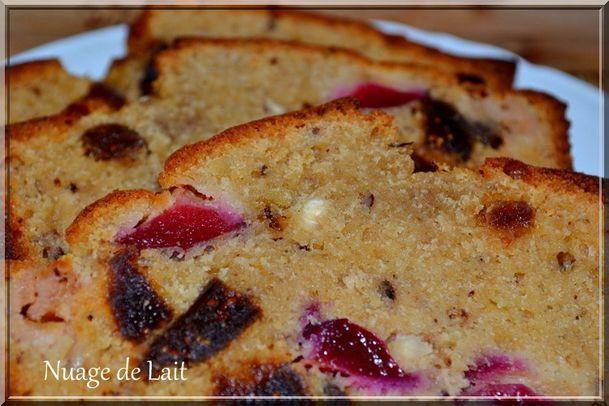 cake noisette, prune et figues