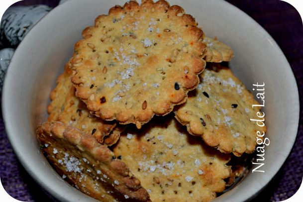 crackers quinoa et graines