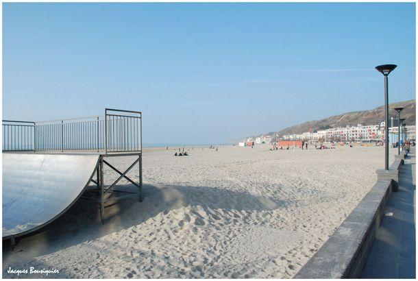Boulogne sur Mer la plage