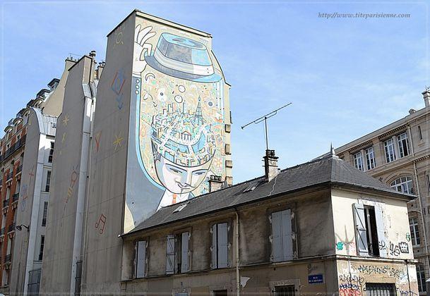 Peinture murale Rue Lafayette 4