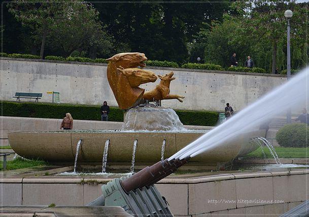 Sculptures Trocadéro 3