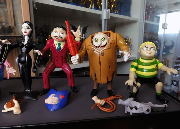 THE ADDAMS FAMILY LOOSE COLLECTION 2 PLAYMATES