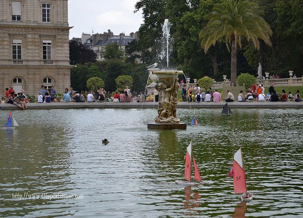Fontaine Luxembourg 2