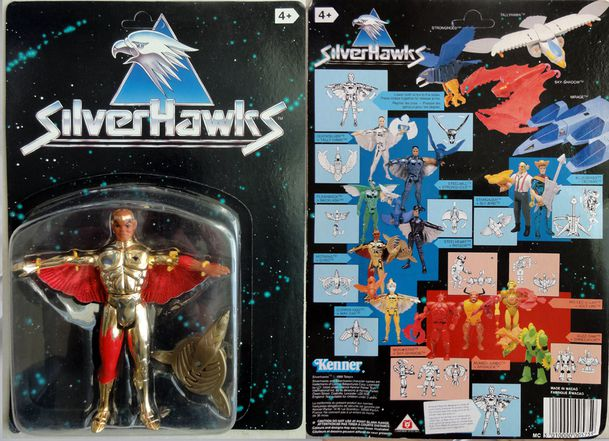 SILVERHAWKS HOTWING KENNER