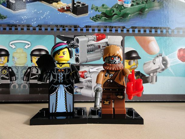 LEGO THE MOVIE 16 TO COLLECT MINIFIGS START BIS