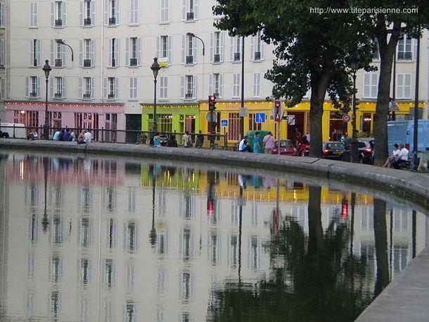 11 août 2011 Reflets sur le Canal Saint-Martin