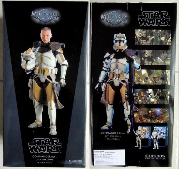 SIDESHOW COMMANDER BLY BOX