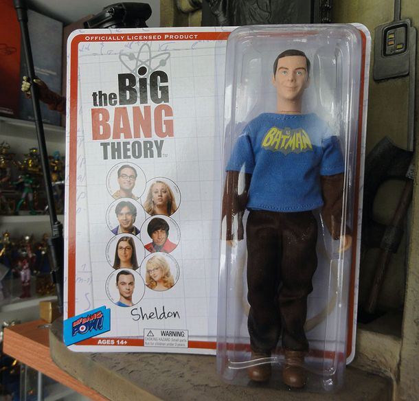 THE BIG BANG THEORY SHELDON FIGURE