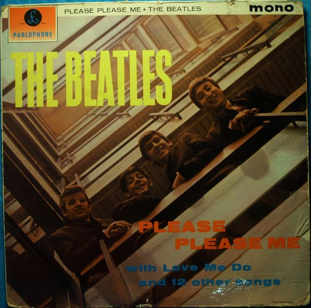 Please Please Me (front cover)